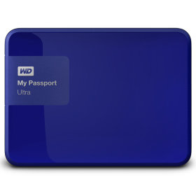 "Внешний жесткий диск 2.5"" WD My Passport Ultra 2TB (WDBNFV0020BBL-EEUE)"