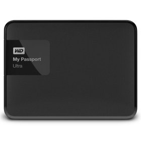 "Внешний жесткий диск 2.5"" WD My Passport Ultra 1TB (WDBDDE0010BBK-EEUE)"