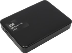 "Внешний жесткий диск HDD 2.5"", 3Tb, Western Digital My Passport Ultra Black  WDBBKD0030BBK"