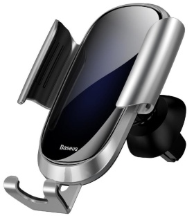 Держатель Baseus Future Gravity Car Mount (Suyl-WL0S/WL03/WL01) серебристый