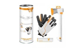 Fiskars Axe White Edition Set