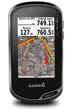 Туристический навигатор Garmin Oregon 750t RUS + пленка на экран