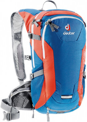 Deuter Compact EXP 12 blue/red (bay/papaya)